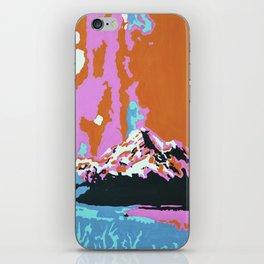 Liquid Sunshine In The Mountains iPhone Skin