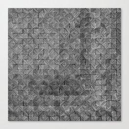 Ink Stitch: Slate Canvas Print