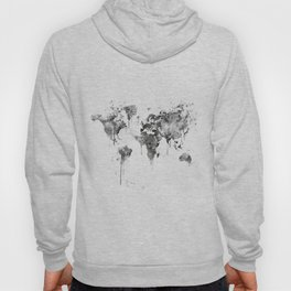 World Map Hoody