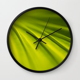 Fan Palm Wall Clock