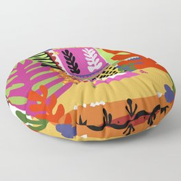 Cut It Out Floor Pillow