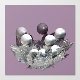 Spikes and Spheres Canvas Print