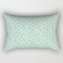 Raindrop Confetti Rectangular Pillow
