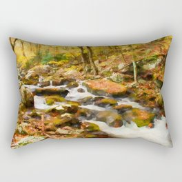 Gold Rush Rectangular Pillow