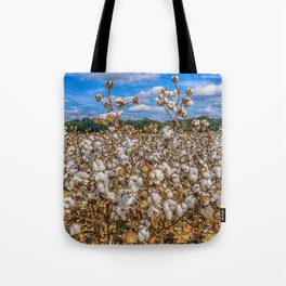 Sea of Cotton Tote Bag