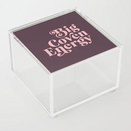 Big Coven Energy Plum Acrylic Box