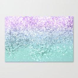 Mermaid Girls Glitter #1 #shiny #decor #art #society6 Canvas Print