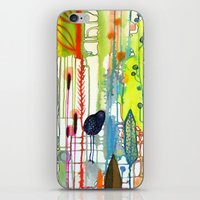la iPhone & iPod Skins featuring la traverse by sylvie demers