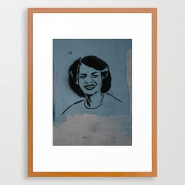 Condi Rice Framed Art Print
