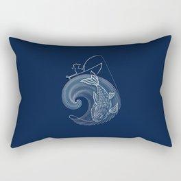 Fishing Rectangular Pillow
