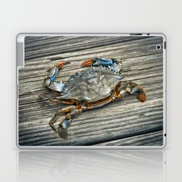 """Busted Peeler"" - Maryland Blue Crab Laptop & iPad Skin"