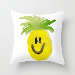 Just Mr. Pineapple Throw Pillow