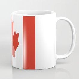 red maple leaf flag of Canada Coffee Mug