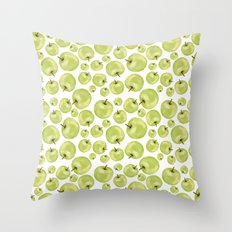 More Apples Throw Pillow