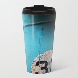 Number 32 Metal Travel Mug