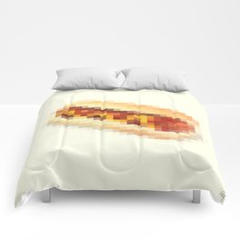 Censored Hot Dog Comforters