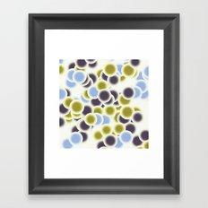 microscopic life 1 Framed Art Print