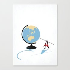 HOW THE WORLD WILL END Canvas Print