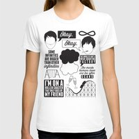 fault in our stars T-shirts featuring The Fault In Our Stars Collage by laurenschroer