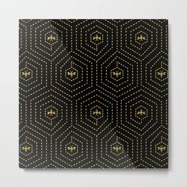 Honeycomb Home Metal Print