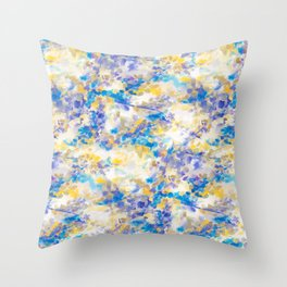 Canopy Blue Throw Pillow