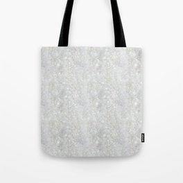 White Apophyllite Close-Up Crystal Tote Bag