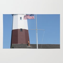 Montauk Lighthouse Rug