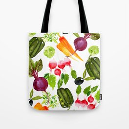 Mixed Vegetables Tote Bag