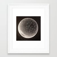 constellation Framed Art Prints featuring Constellation by Shelbie Sanderson