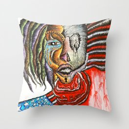 AMAZING DISGRACE Throw Pillow