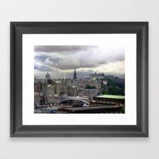 Edinburgh. (II) Framed Art Print