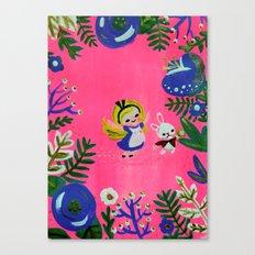 Alice Fan Art Canvas Print