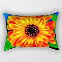 Orange Marigold Rectangular Pillow
