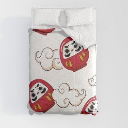 Cute Daruma Pattern Comforters