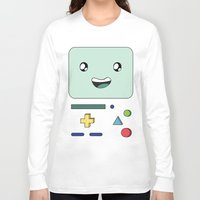 bmo Long Sleeve T-shirts featuring BMO by Kezarah