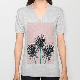 Palm Trees - Cali Summer Vibes #1 #decor #art #society6 Unisex V-Neck