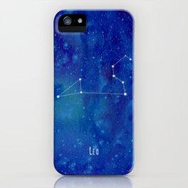 Constellation Leo iPhone Case