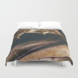 Autumn texture Duvet Cover
