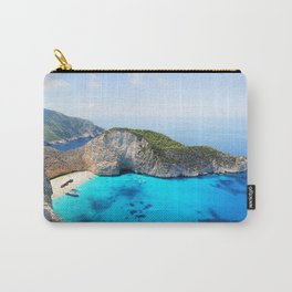Navagio Beach Carry-All Pouch