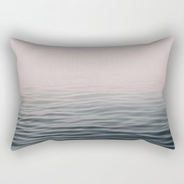 Misty sea Rectangular Pillow