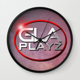 GlaPlayz Wall Clock