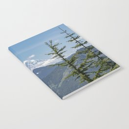 Mount Rainier Framed Notebook