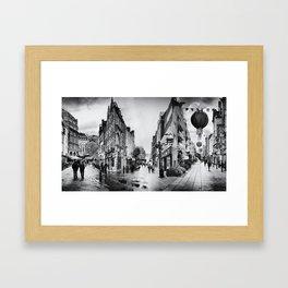 Im/possible London Framed Art Print