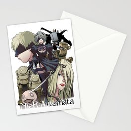 Automata Cast Stationery Cards