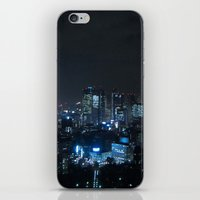 tokyo iPhone & iPod Skins featuring TOKYO by Olle Goto