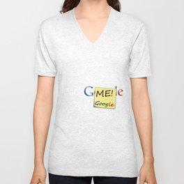 Fuck ME! Ask Google Unisex V-Neck