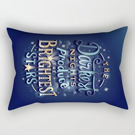 Brightest Stars Rectangular Pillow