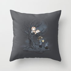 Zombie Integrity Throw Pillow