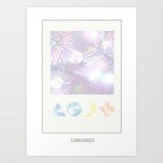 FIREBOW Art Print