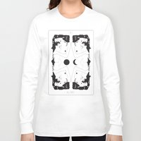 gustav klimt Long Sleeve T-shirts featuring Klimt Tarot Card by Anna McKay